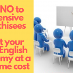 Start your own English Academy at a one time cost